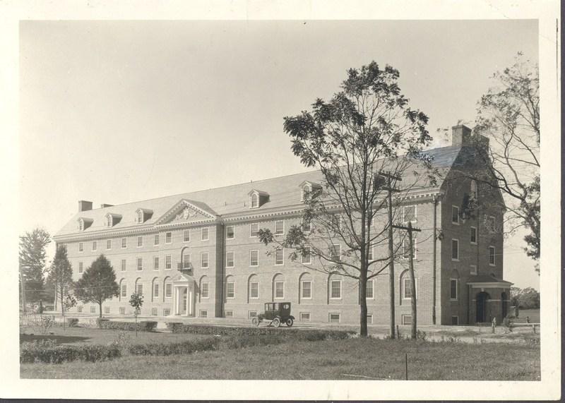 Jefferson Hall, circa 1924