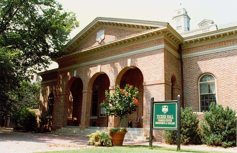 Tucker Hall, 1996