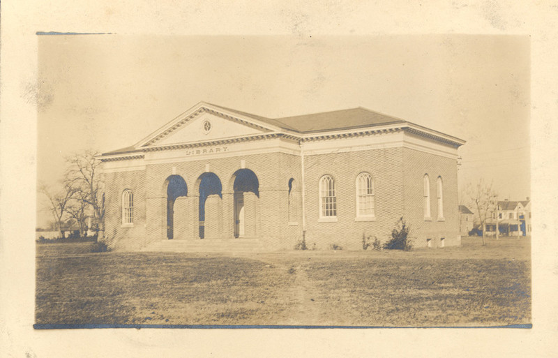 Old Library, 1918