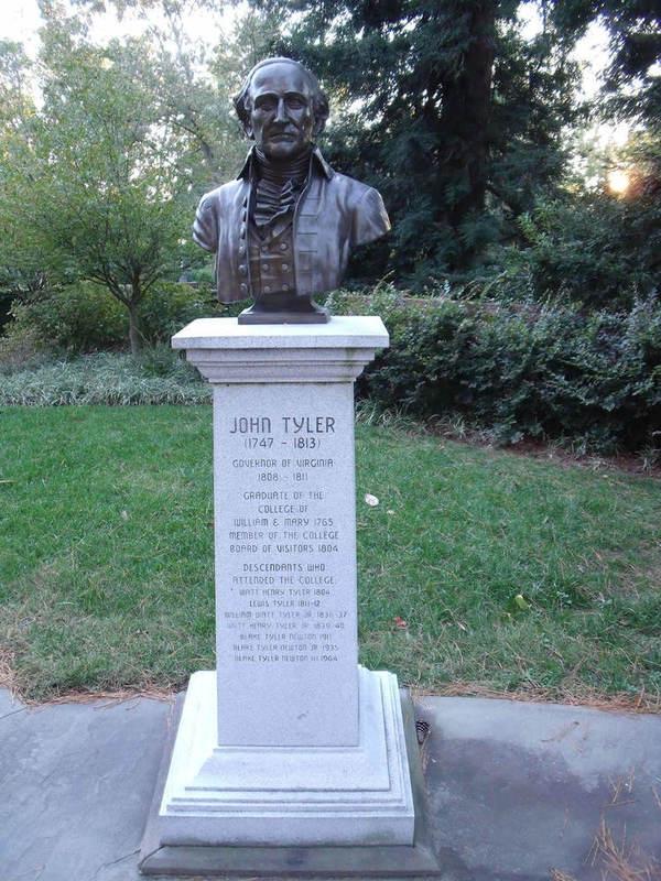 John Tyler Sr. Statue, 2011