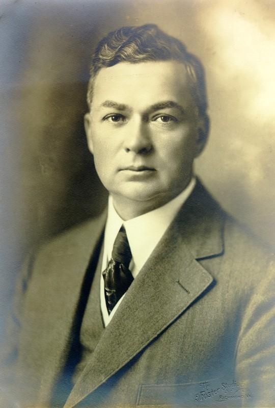 Photograph of a Portrait of Julian A. C. Chandler, Undated
